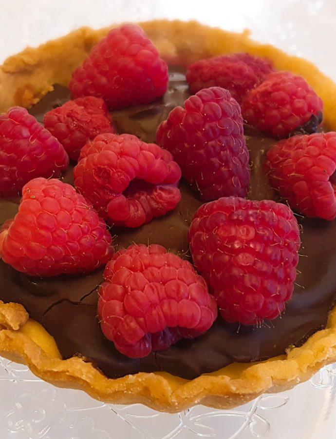 Tartaletki z ganache czekoladowym