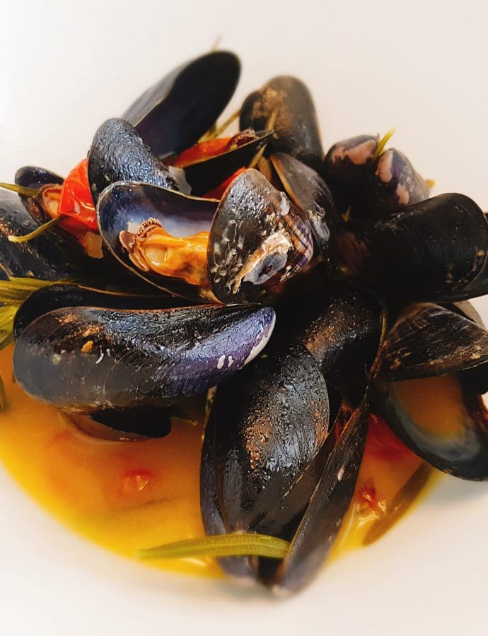 Mussels with rosemary