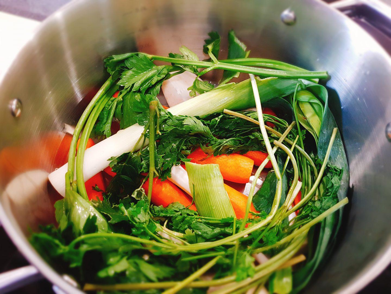 warzywa na bulion