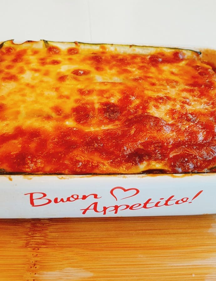 Lasagne z cukinią