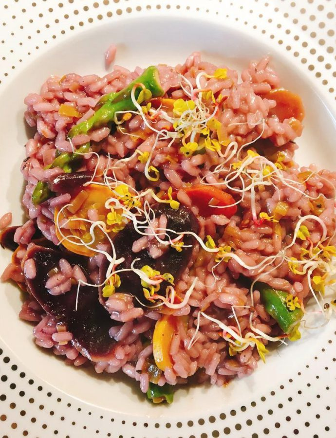 Risotto warzywne